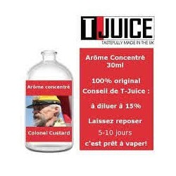 Concentré Colonel Custard T-JUICE 30ml