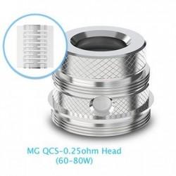 Résistances Ultimo MG QCS 0,25 ohms x5