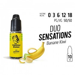 Banane Kiwi Duo sensation Le Vapoteur Breton 10 ml