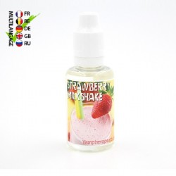 Concentré Strawberry Milkshake Vampire Vape 30 ml TPD EU