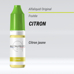 Citron Alfaliquid 10 Ml 11 Mg