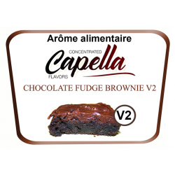 Concentré Chocolate Fudge Brownie V2 Capella 10Ml