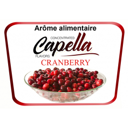 Concentré Cranberry Capella 10Ml