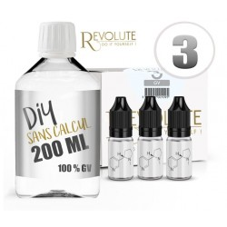 Pack DIY 100% VG 200ml Révolute