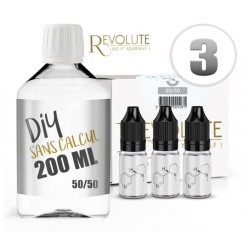 Pack DIY 50/50 200ml Révolute