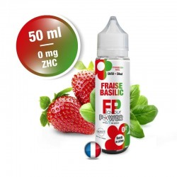 Fraise Basilic - Flavour Power Zhc 50Ml 0Mg