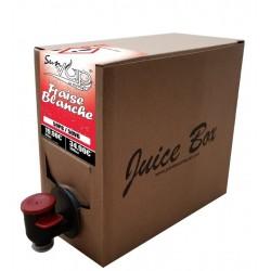 Juice Bag 1 litre Fraise blanche Sunvap