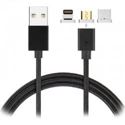 Cable USB 3en1