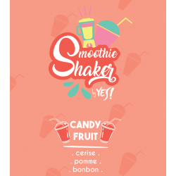 Bouteille Juice Bar Candy Fruit Smoothie Shaker Yes 1 litre