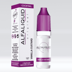 eLiquide Vanille custard Alfaliquid - 10 ml