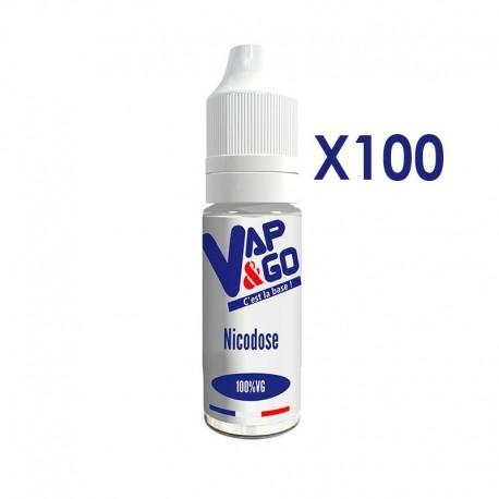 Pack de Nicodoses VAP&GO 100% VG 10ml 20mg