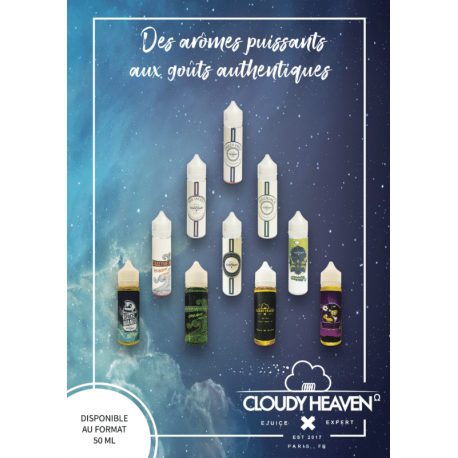 Poster A3 CLOUDY HEAVEN