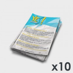 Pack 10  Flyers A5 YES Store Qui sommes nous