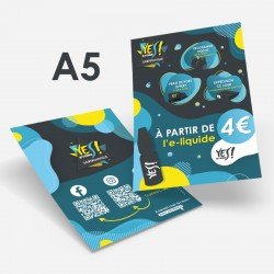 Flyer A5 recto/verso Yes Store à personnaliser