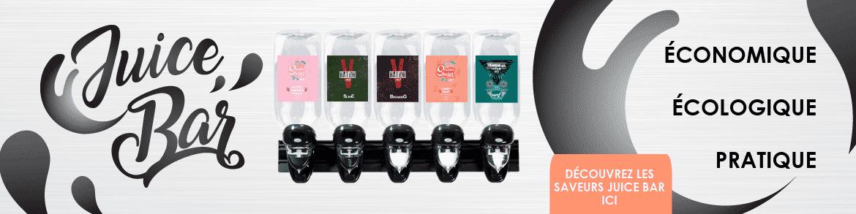 """Nouveau concept """" Le juice Bar"""""""